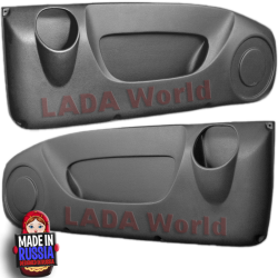 2x Door Pockets for LADA Niva