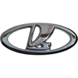 Original LADA Logo badge: 2110-8212064 (Metal)