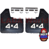 Body: Mud flaps, front ►4X4◄
