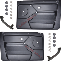 LADA Niva Door cover plates, complete kit for 2 doors