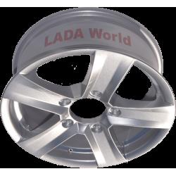 Wheel: Aluminium rim
