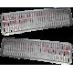 Bonnet grid for LADA Classic VAZ 2103+2106 - Chromed - 2103-8402076 + 2103-8402077