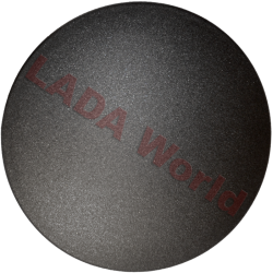LADA Niva wheel hub cover, black plastic, 2121-3103065-10