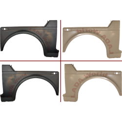 LADA Niva Body repair piece: Front wing, Left 2121-8403025 & Right 2121-8403024