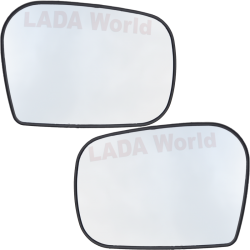 Spare glasses for side mirror, LADA Niva, 21214-8201246 +47