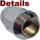 LADA Niva Wheel nut, chromed - 2121-3101040 Details