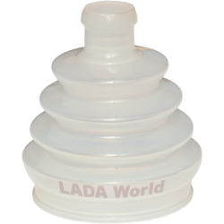 LADA Niva, boot for the outer CV-joint in LADA Niva - 2121-2215030 Polyurethane
