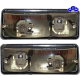LADA Sidelight, complete set, rear view: 2103-3712010 & 2103-3712011