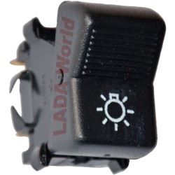 Light switch, original LADA - 2103-3709600 having 3 connectors