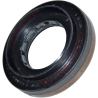 Oil seal: New type with dirt protection - Rear