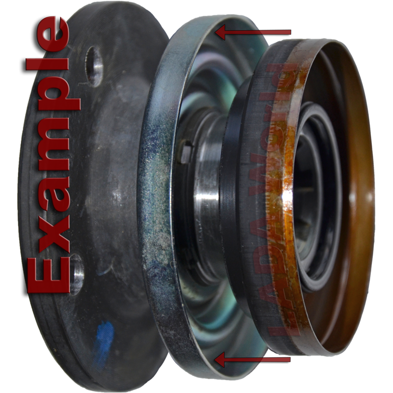 E-type différentiel Seal Kit