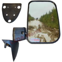 LADA Niva XL side mirror with anti reflex glass: Right side