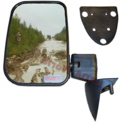 LADA Niva XL side mirror with anti reflex glass: Left side