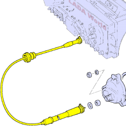 LADA Speedometer Cable