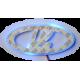 LADA Logo LED Backplate, Blue Color