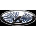 LADA Logo Badge: LED: White