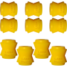 Polyurethane bushing: Rear: Suspension