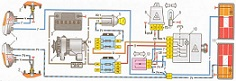 Wiring diagram for hazard switch with 6 contact points