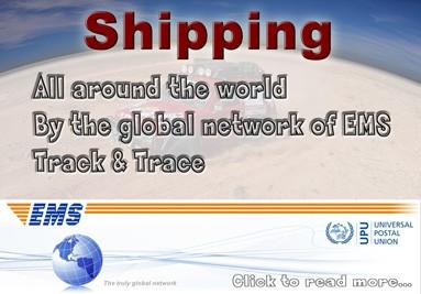 الشحن في جميع أنحاء العالم
